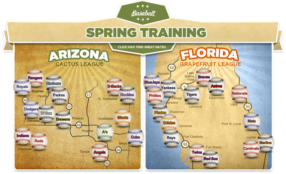 A Brief History of American Baseball\'s Spring Training ...